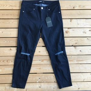 NWT Just Black ripped jeans 👖 27P